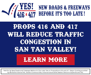 Prop 416 & 417 will reduce traffic congestion in San Tan Valley